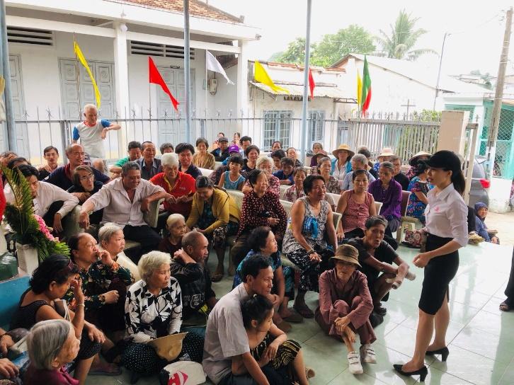 Thiện nguyện tại Làng Phong Tam Hiệp