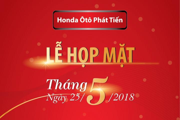Sự kiện họp mặt tháng Honda Ôtô Phát Tiến