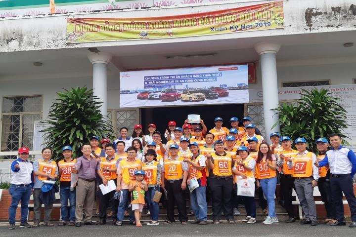 Honda Ôtô Đồng Nai - Biên Hòa tổ chức tập huấn lái xe an toàn