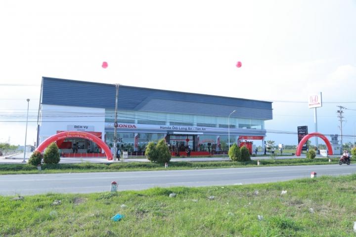Tưng Bừng Khai Trương Đại Lý 5S Honda Ôtô Long An - Tân An