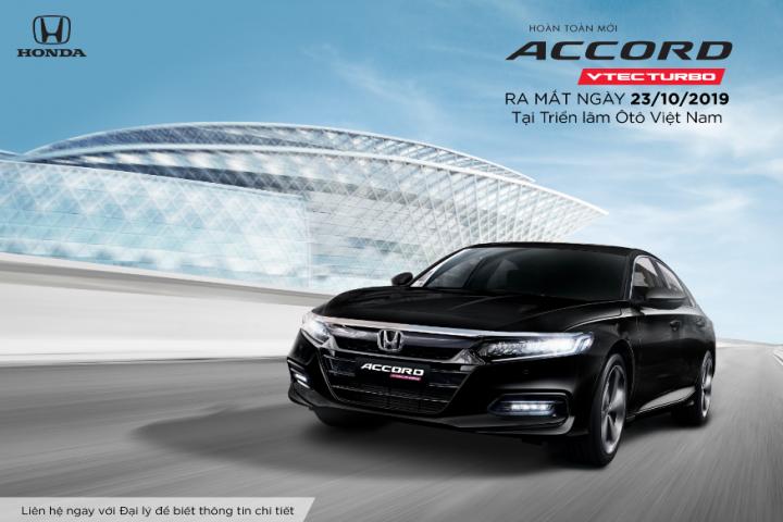 """Honda Việt Nam giới thiệu mẫu xe Honda Accord hoàn toàn mới """"Định đẳng cấp – Tạo tương lai"""""""